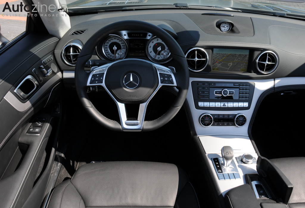 Mercedes-Benz SL Interieur