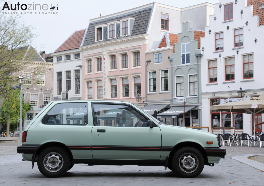 Suzuki Swift (1983 - 1988) Zijkant