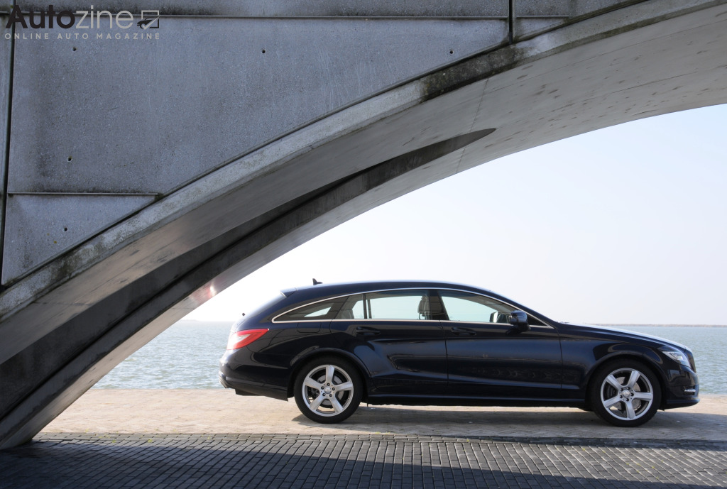 Mercedes-Benz CLS Shooting Brake Zijkant