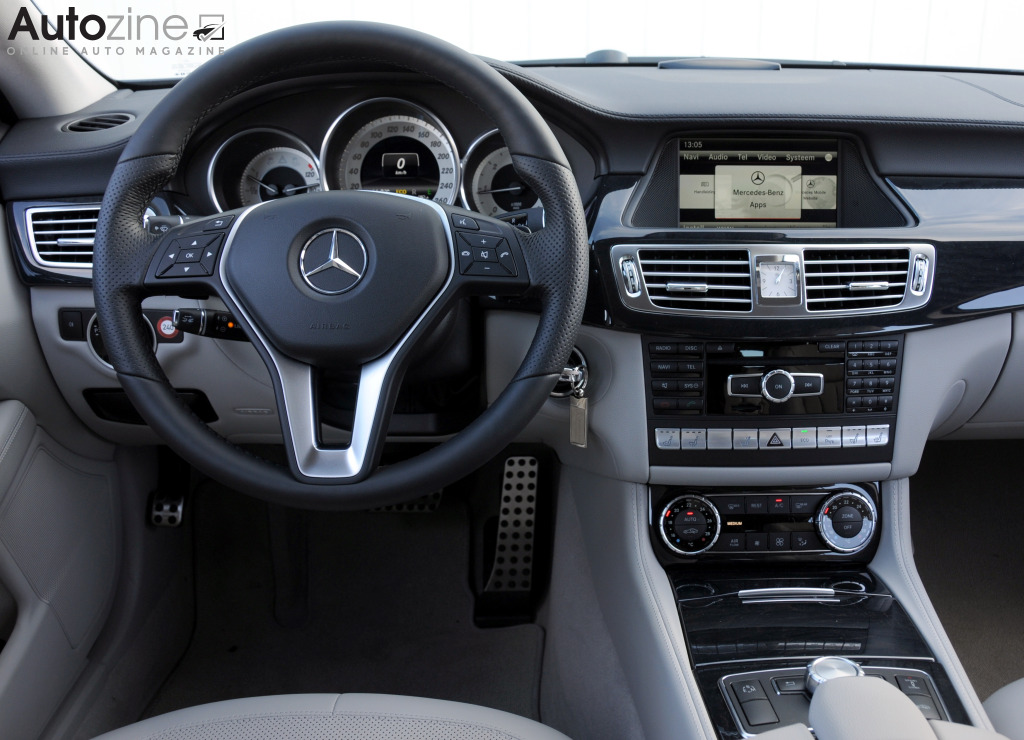 Mercedes-Benz CLS Shooting Brake Interieur