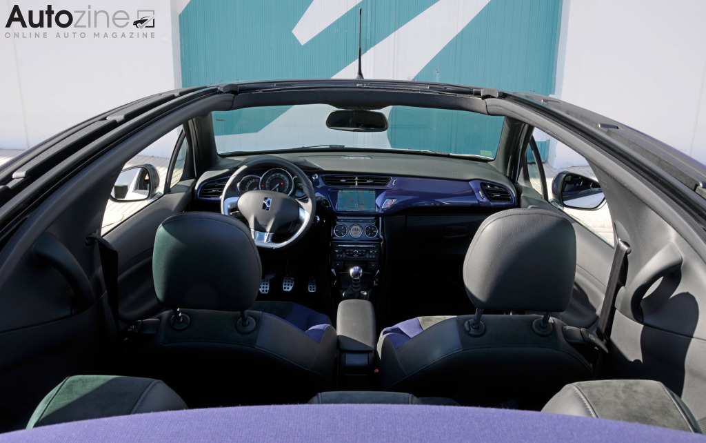 Citroen DS3 Cabrio Interieur