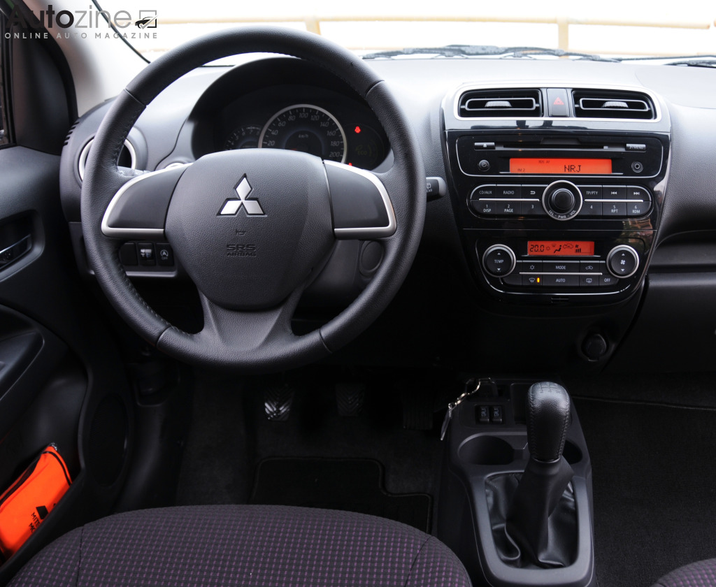 Mitsubishi Space Star Interieur