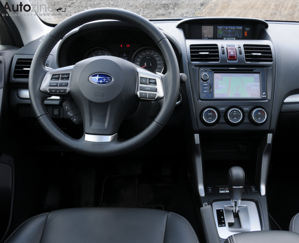 Subaru Forester Interieur