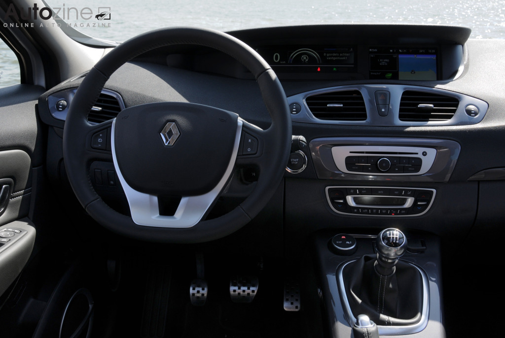 Renault Scenic XMod Interieur
