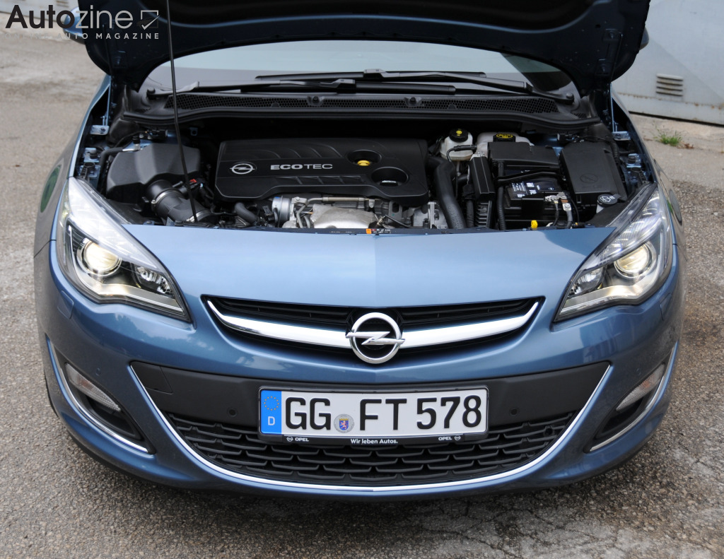 Opel Astra Sports Tourer (2010 - 2016) Motor