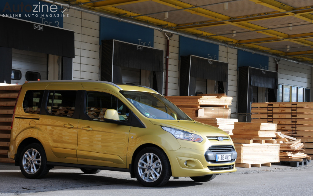 Ford Tourneo Connect Schuin voor