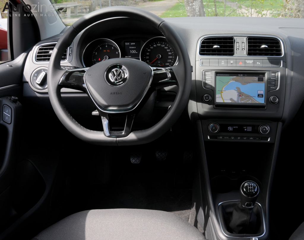 volkswagen polo 2009 2017 interieur