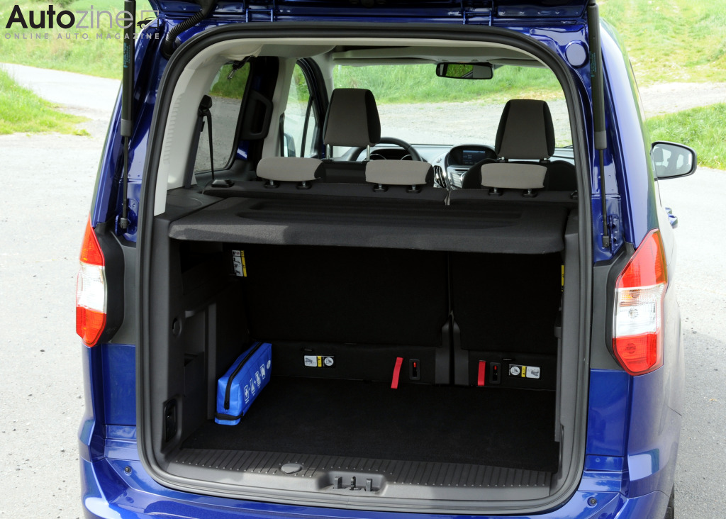 Ford Tourneo Courier Bagageruimte