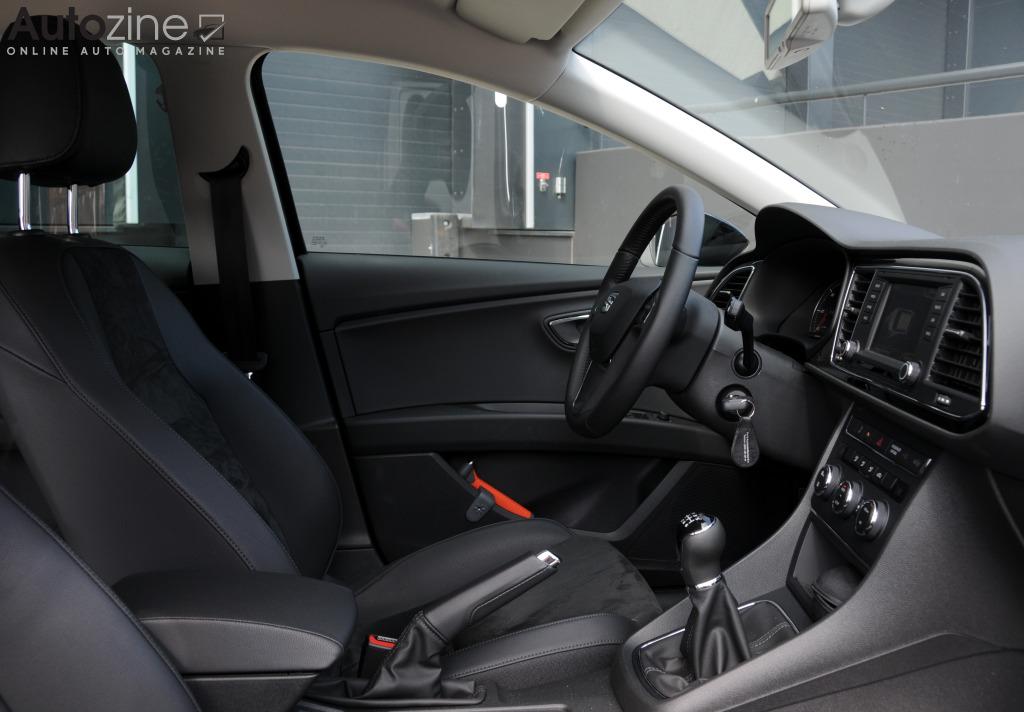 seat leon st ecomotive interieur doorkijk