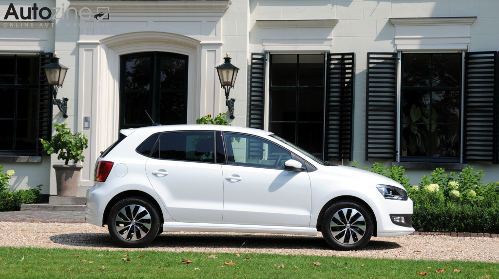 Volkswagen Polo BlueMotion Zijkant