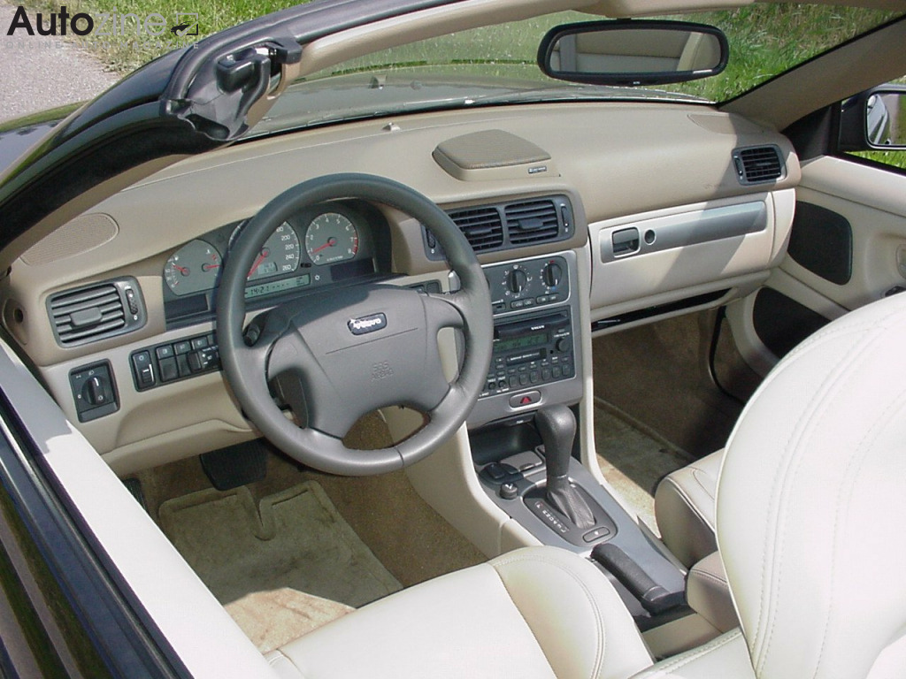 Volvo C70 Convertible Interieur