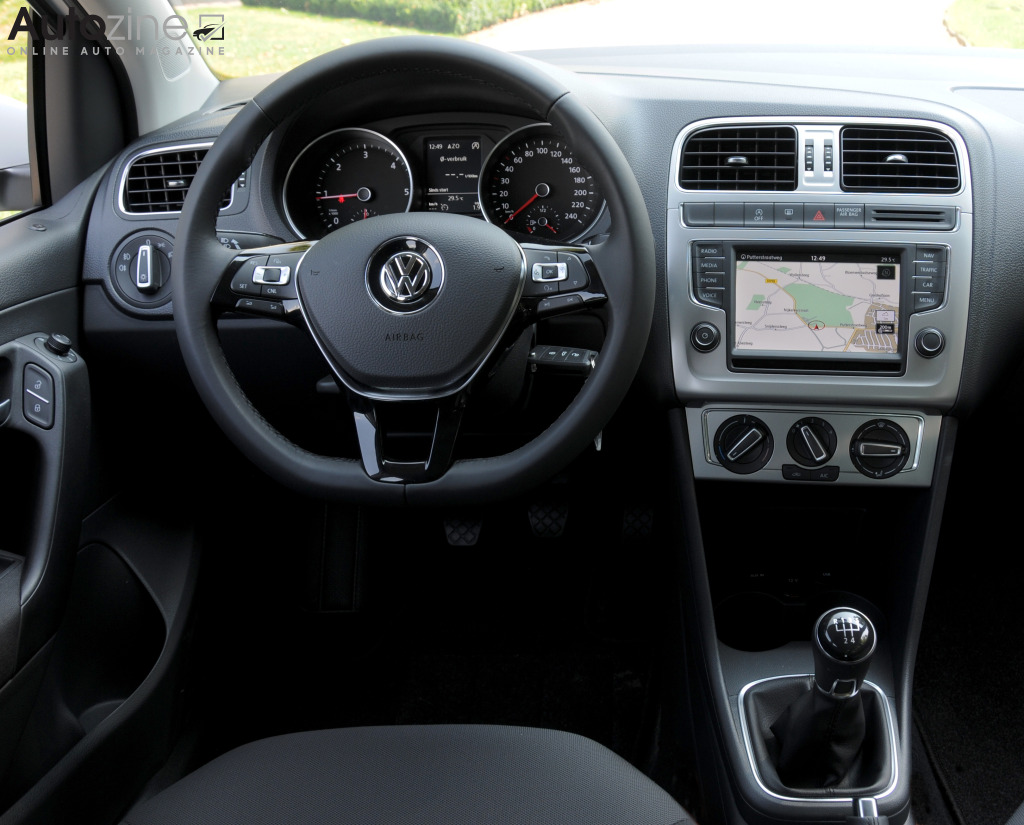 volkswagen polo bluemotion interieur