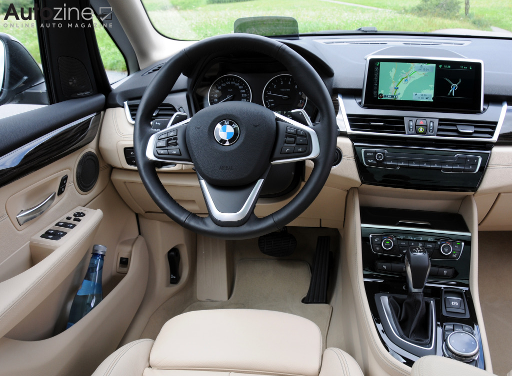BMW 2-Serie Active Tourer Interieur