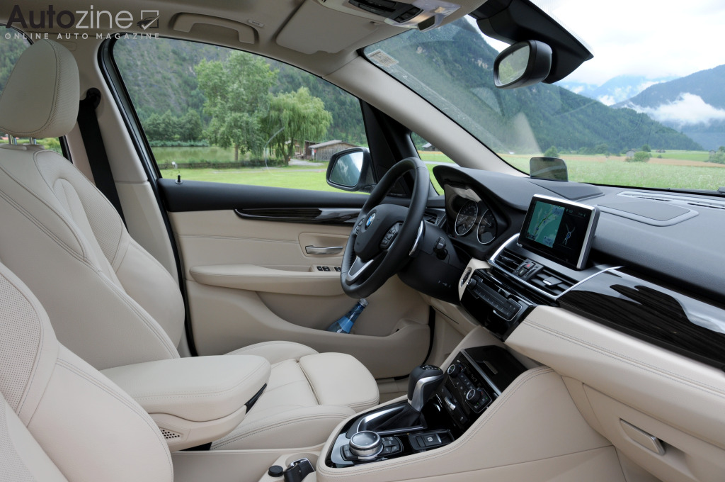 BMW 2-Serie Active Tourer Interieur doorkijk