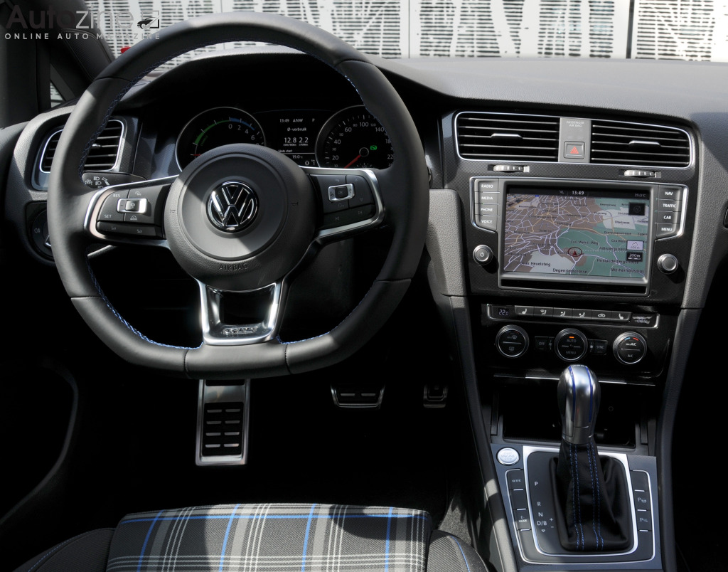 Volkswagen Golf GTE Interieur