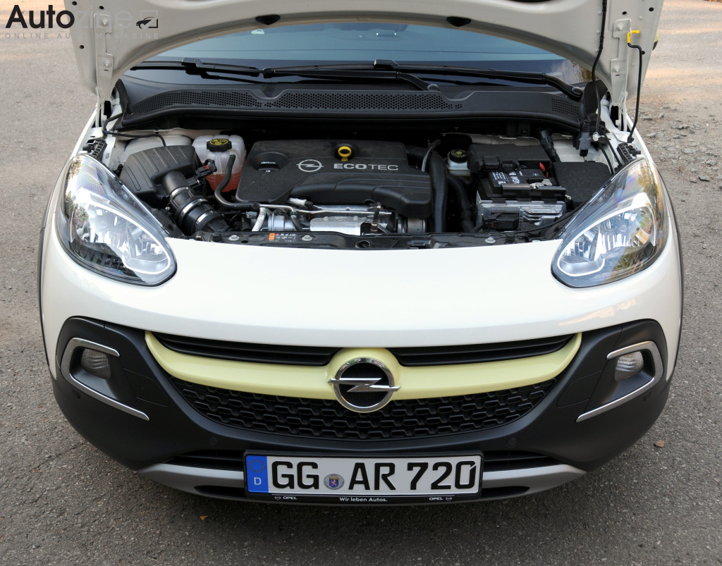 Opel Adam Rocks Motor