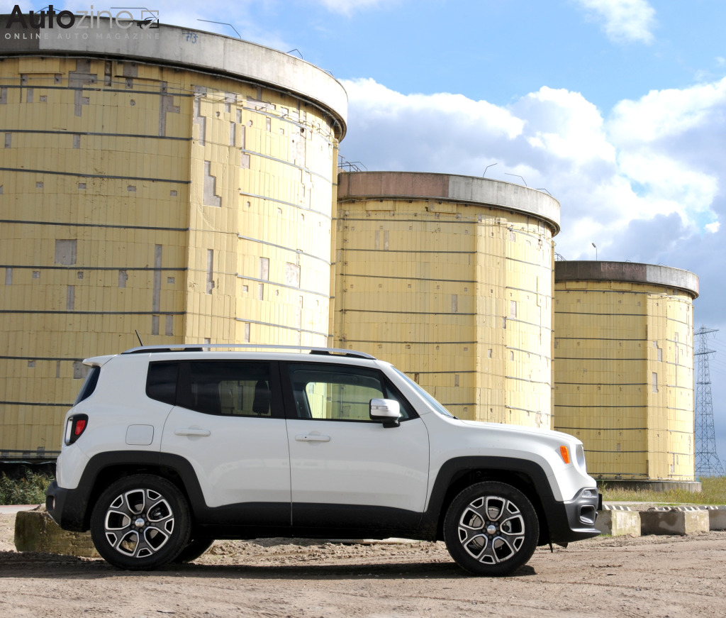 Jeep Renegade Zijkant