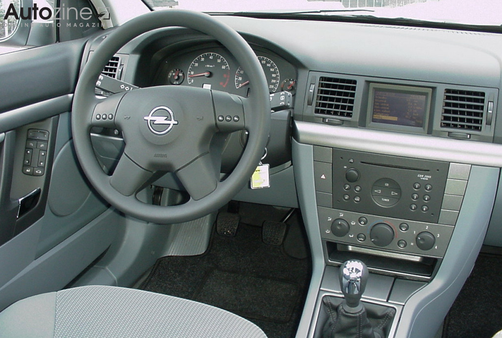opel vectra interieur
