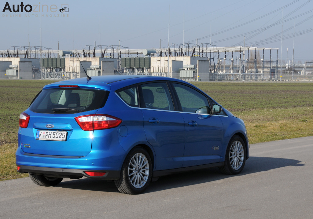 Ford C-Max PHEV Schuin achter