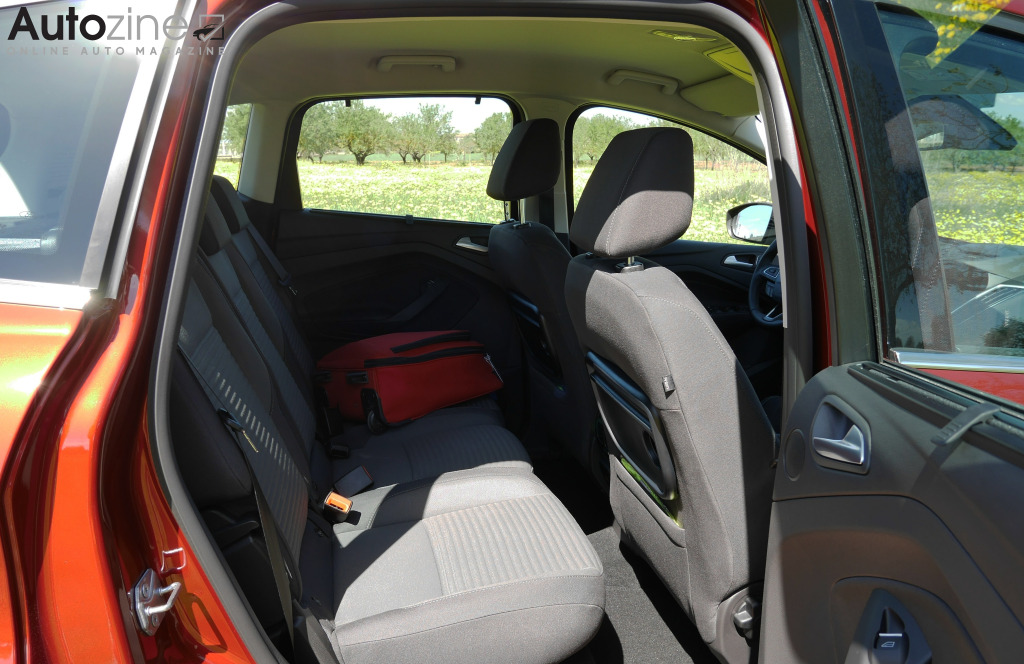 Ford C-Max Achterin
