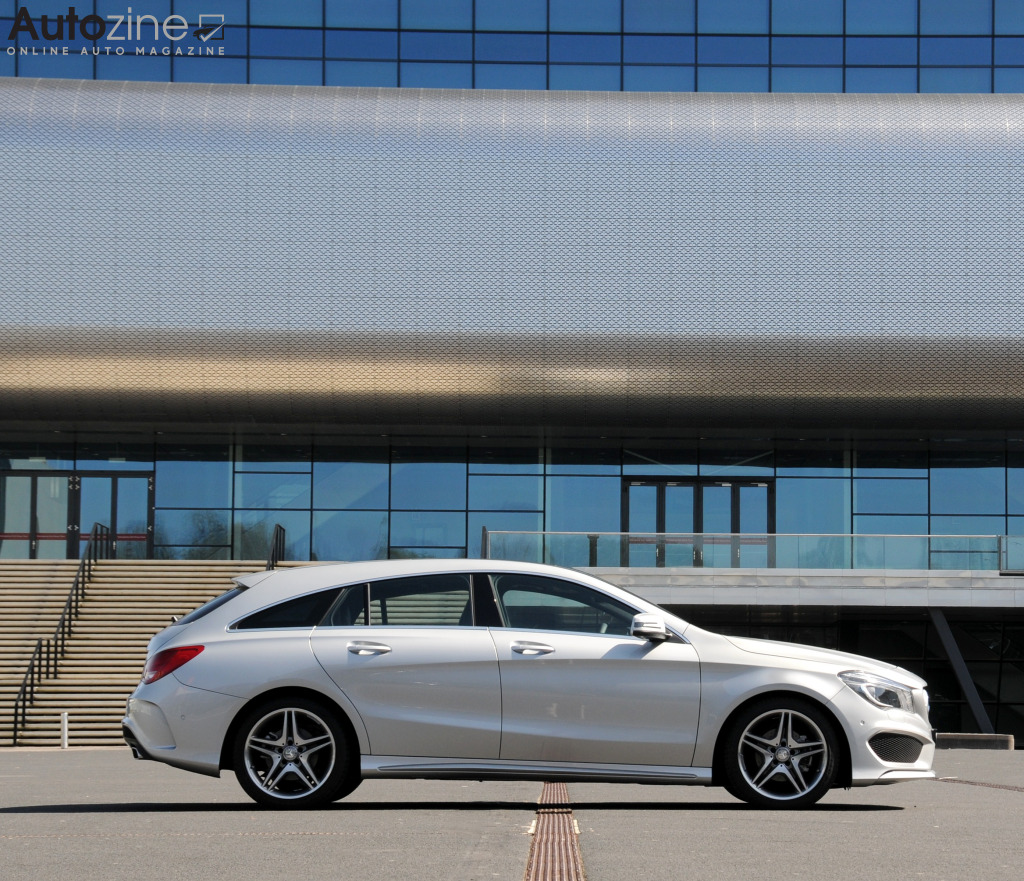 Mercedes-Benz CLA Shooting Brake (2015 - 2019) Zijkant