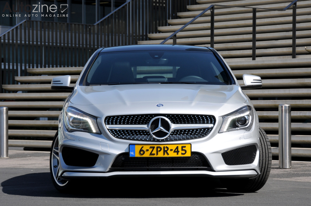 Mercedes-Benz CLA Shooting Brake Recht voor