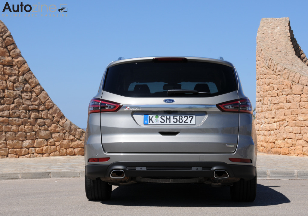 Ford S-MAX Recht achter
