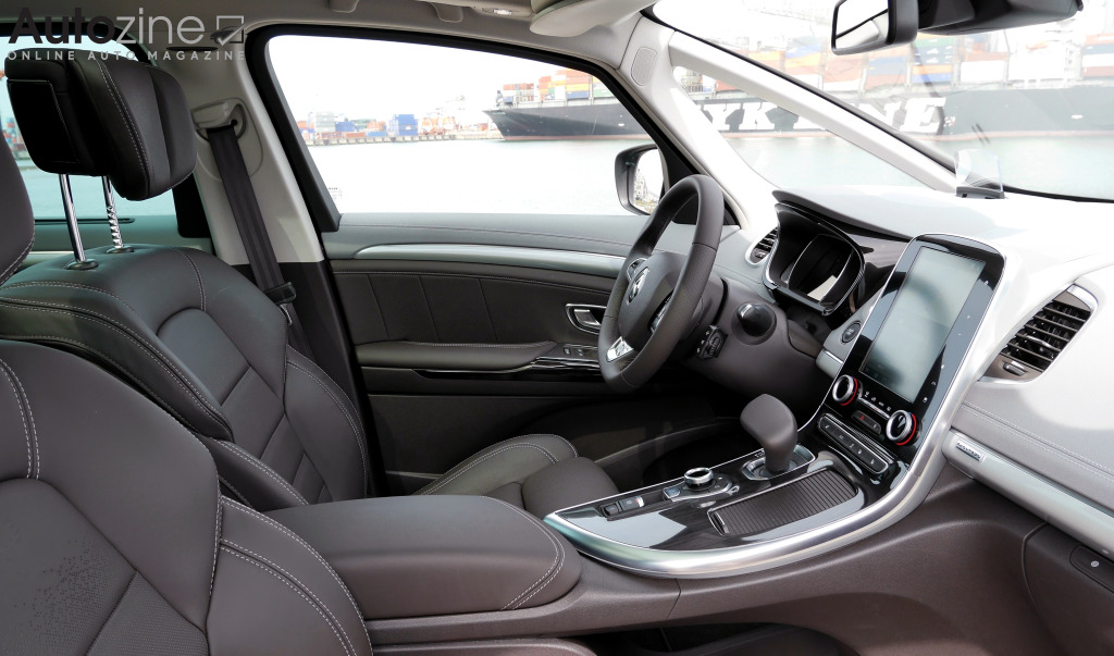 Autozine foto 39 s renault espace 6 11 for Renault espace 5 interieur