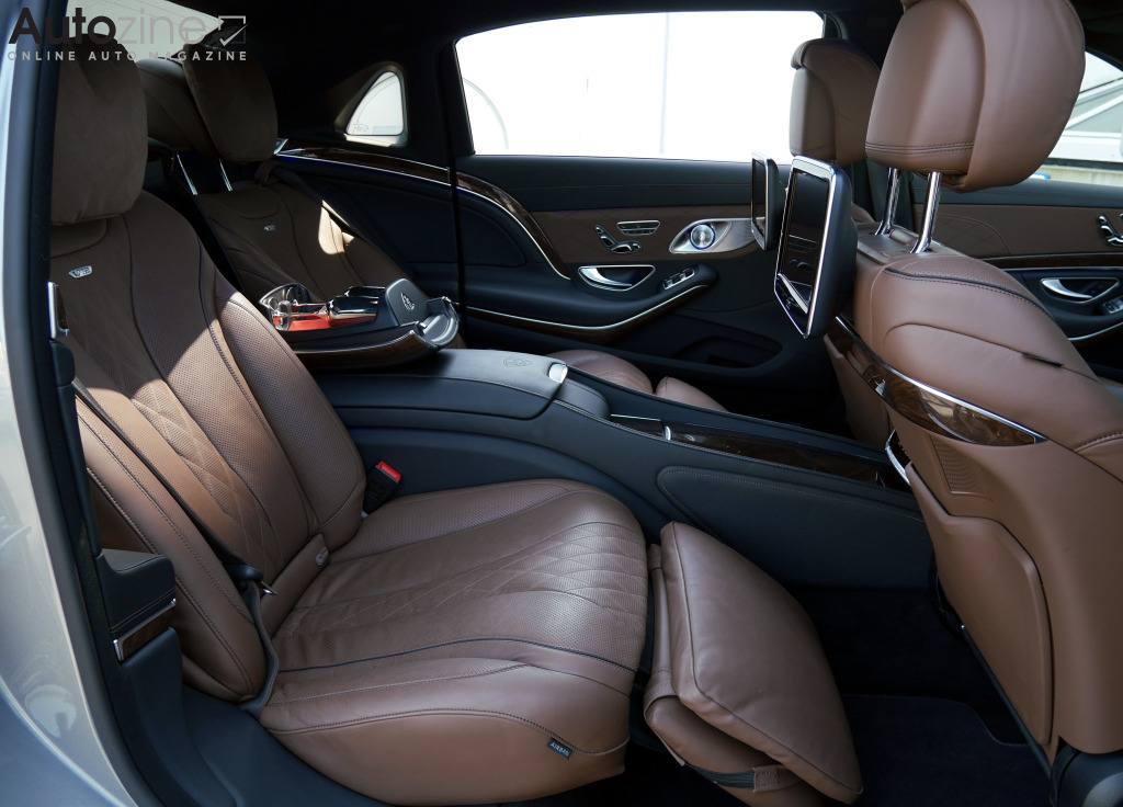 Mercedes-Maybach S600 Achterin