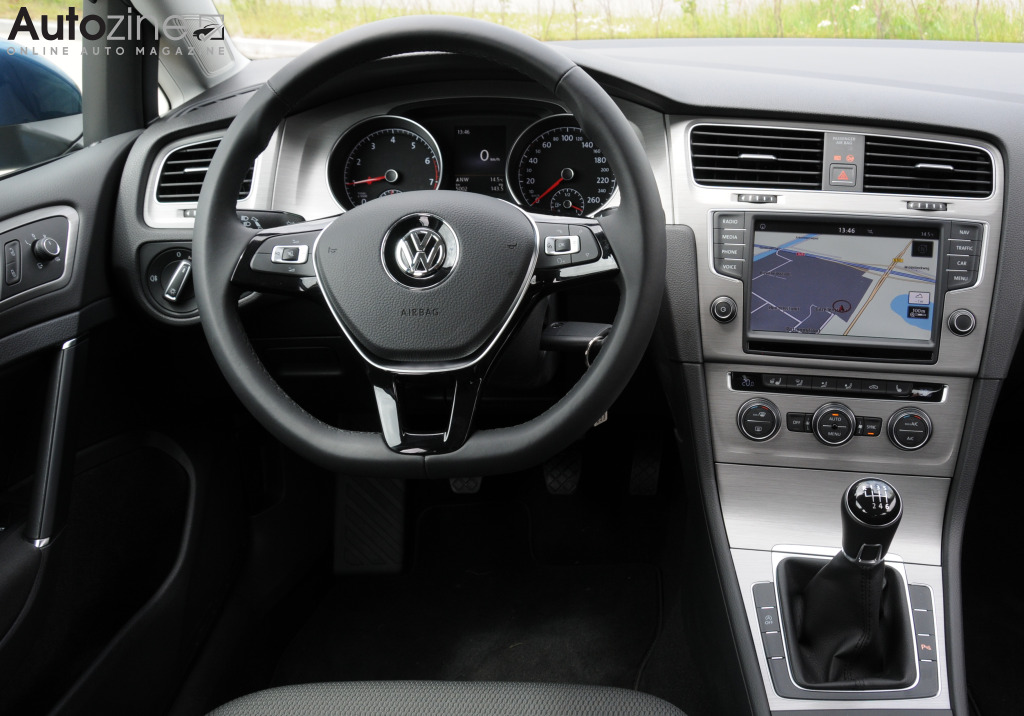 Volkswagen Golf 1.0 BlueMotion Interieur