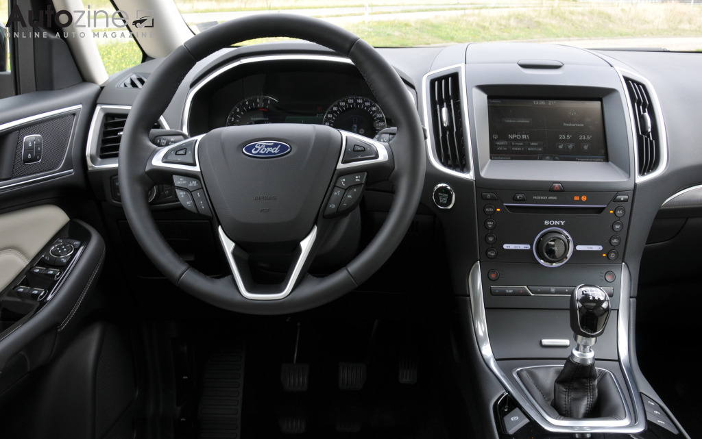 Ford Galaxy Interieur
