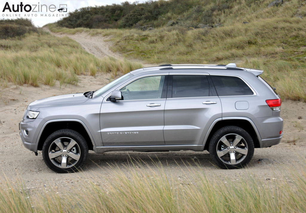 Jeep Grand Cherokee Zijkant