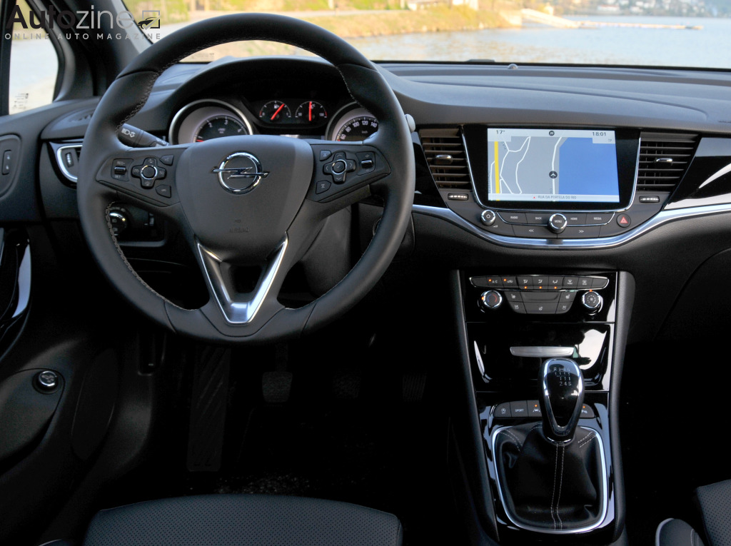 Opel Astra Sports Tourer Interieur