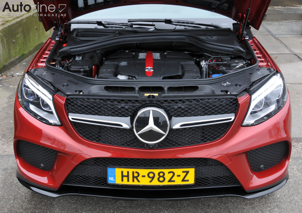 Mercedes-Benz GLE Coupe Motor