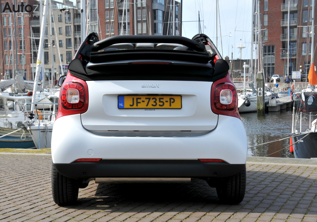 Smart ForTwo Cabrio Recht achter