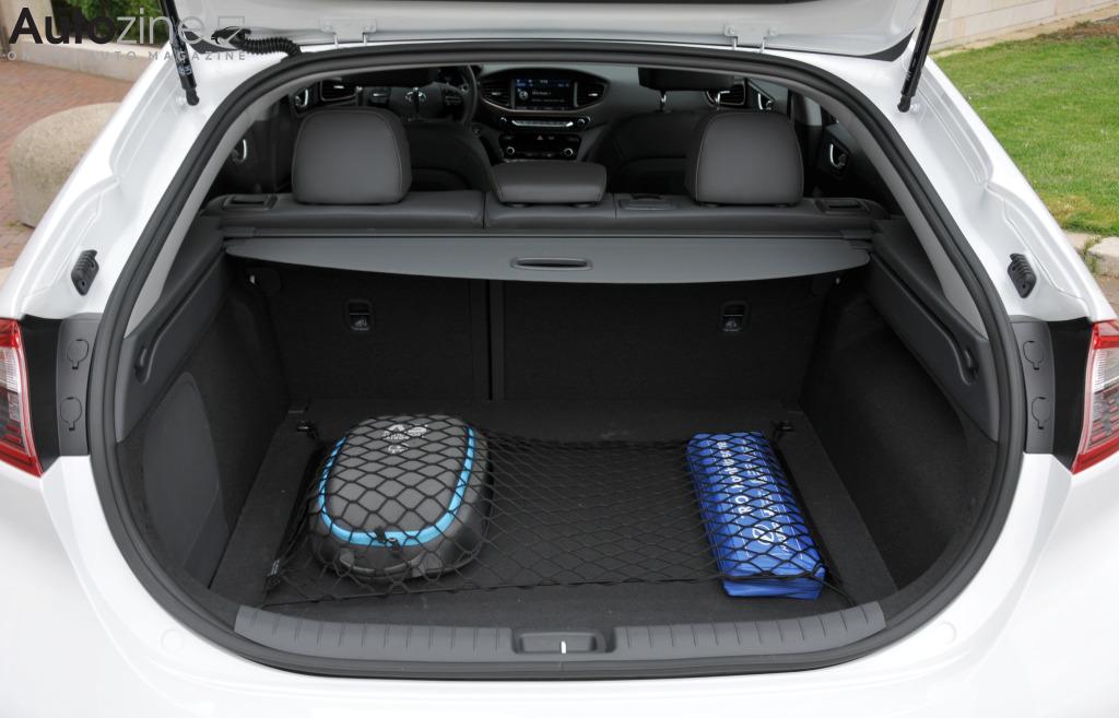 Hyundai ioniq kofferruimte