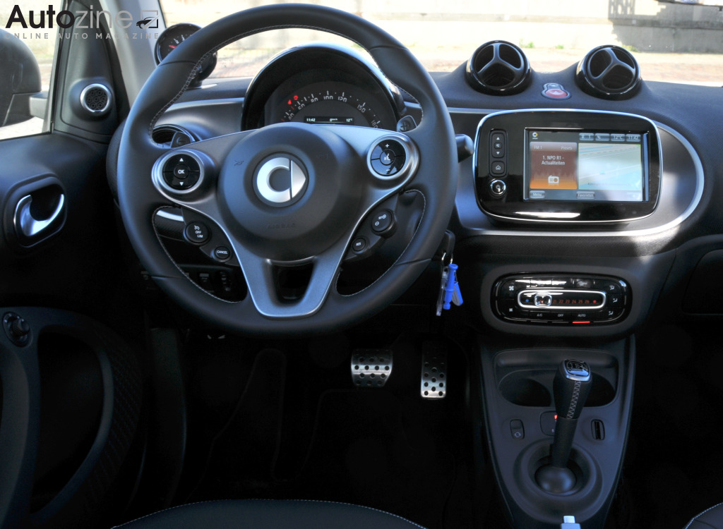 Smart ForTwo Brabus Interieur