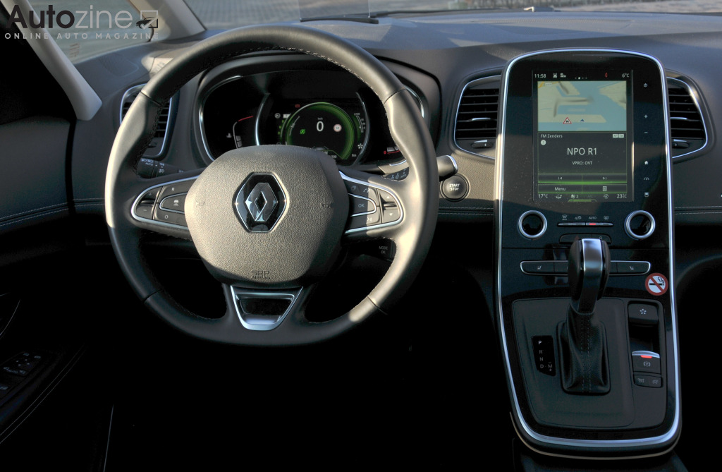 Renault Grand Scenic Interieur