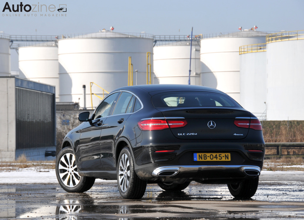 Mercedes-Benz GLC Coupe Driekwart achter