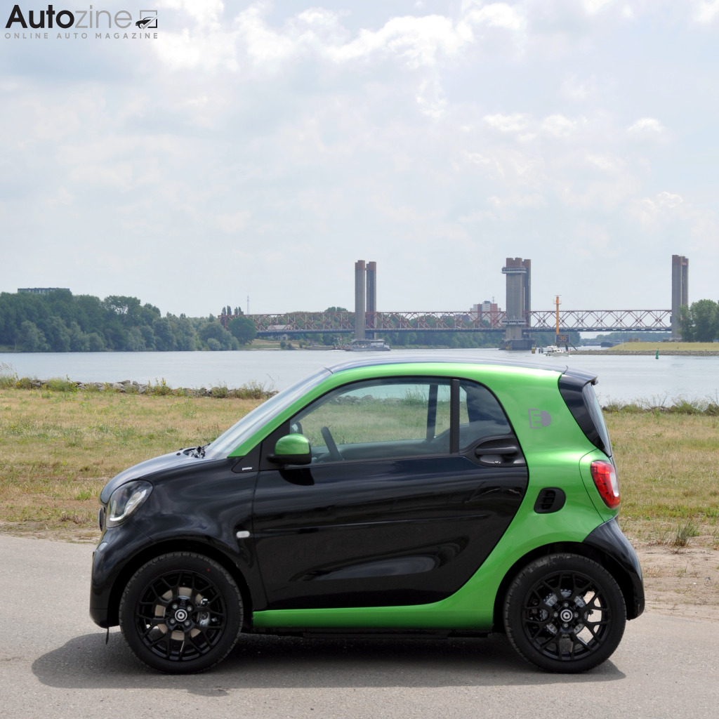 Smart ForTwo electric drive Zijkant