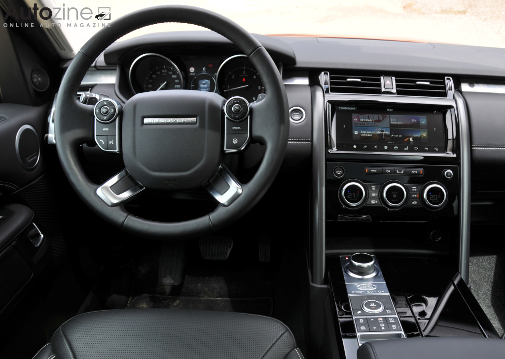 Land Rover Discovery 5 Interieur
