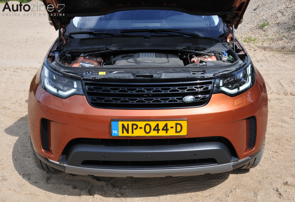 Land Rover Discovery 5 Motor