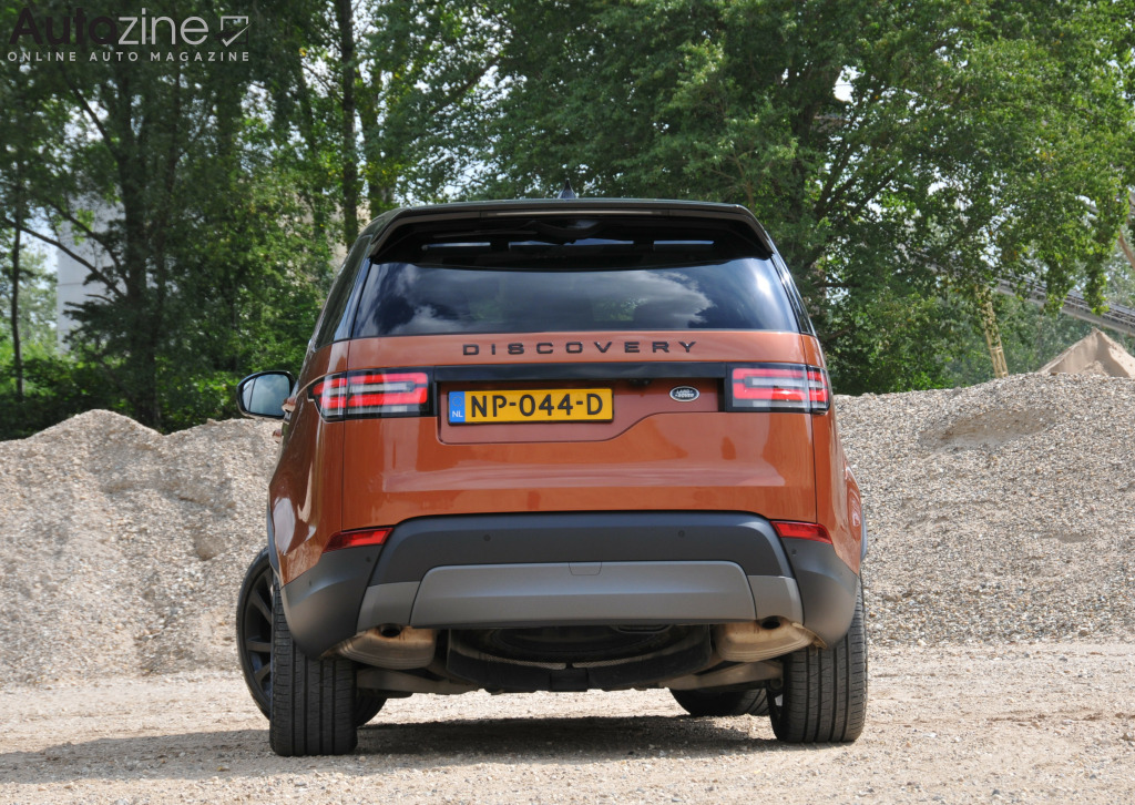 Land Rover Discovery 5 Recht achter