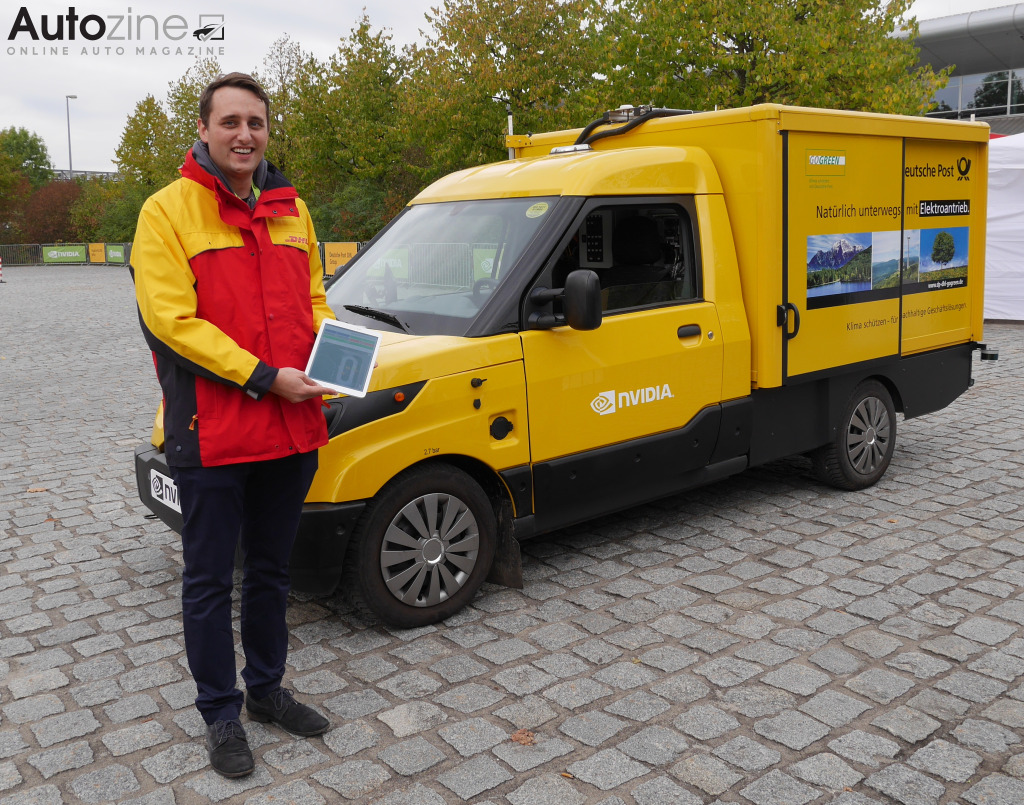 Deutsche Post Street Scooter