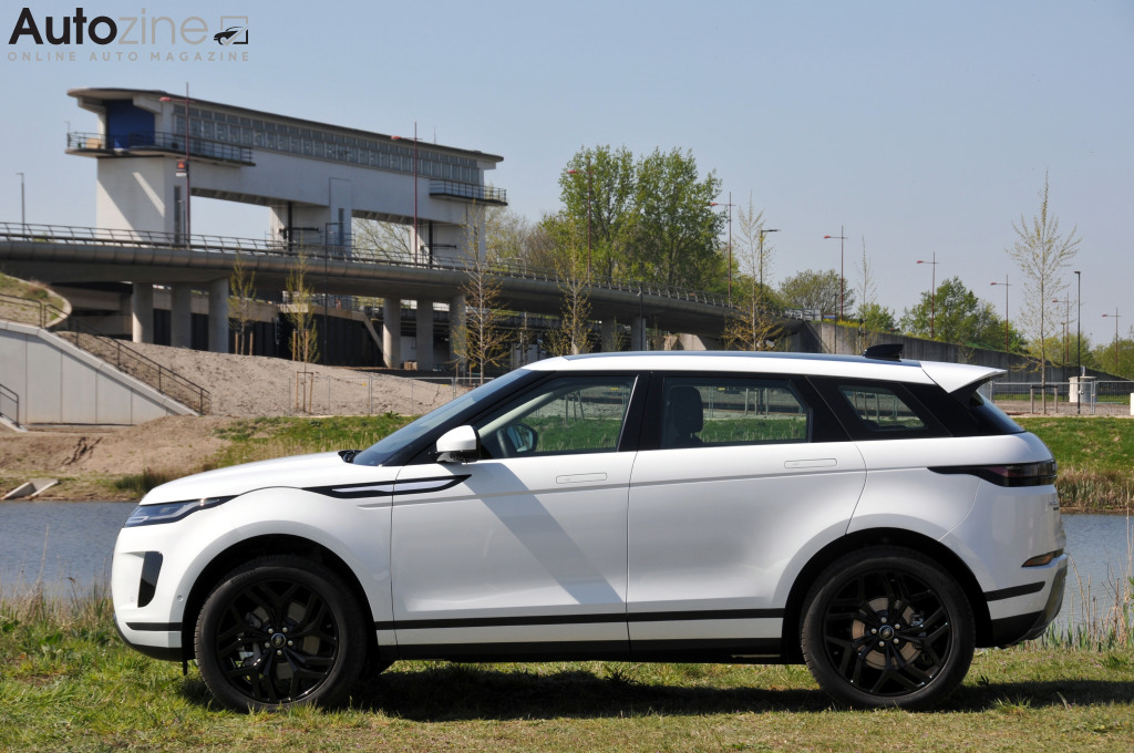 Land Rover Evoque Zijkant