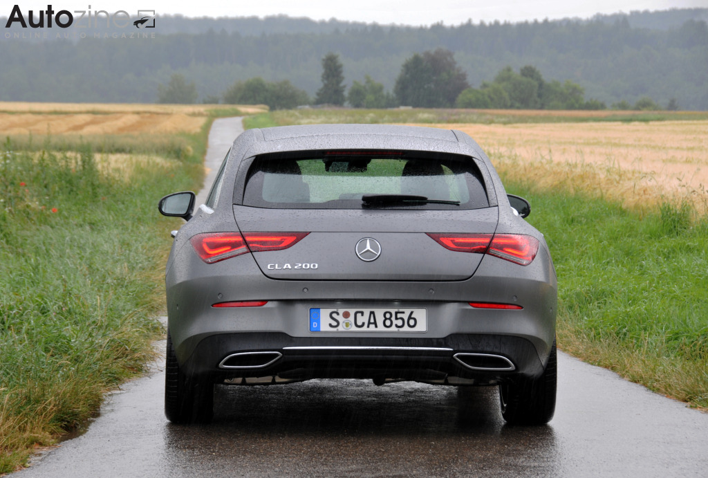 Mercedes-Benz CLA Shooting Brake Recht achter