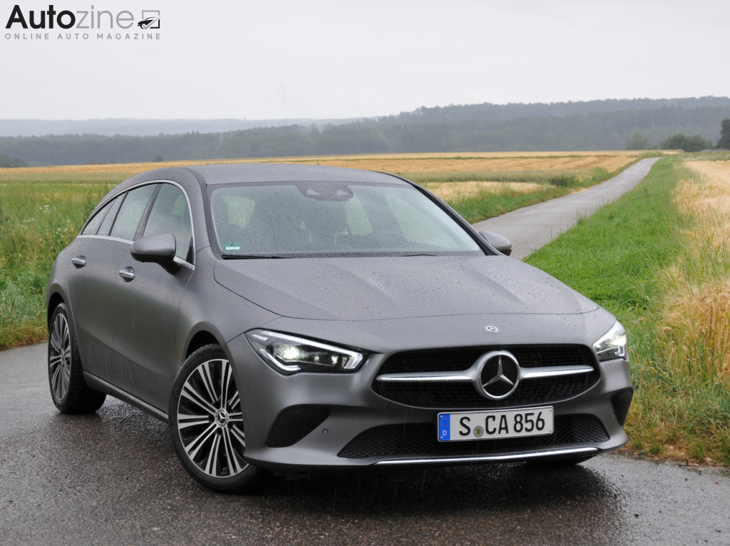Mercedes-Benz CLA Shooting Brake Driekwart voor