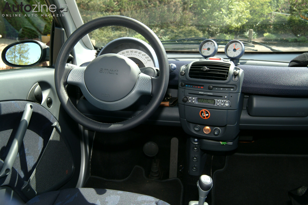 Smart ForTwo (2003 - 2007) Interieur