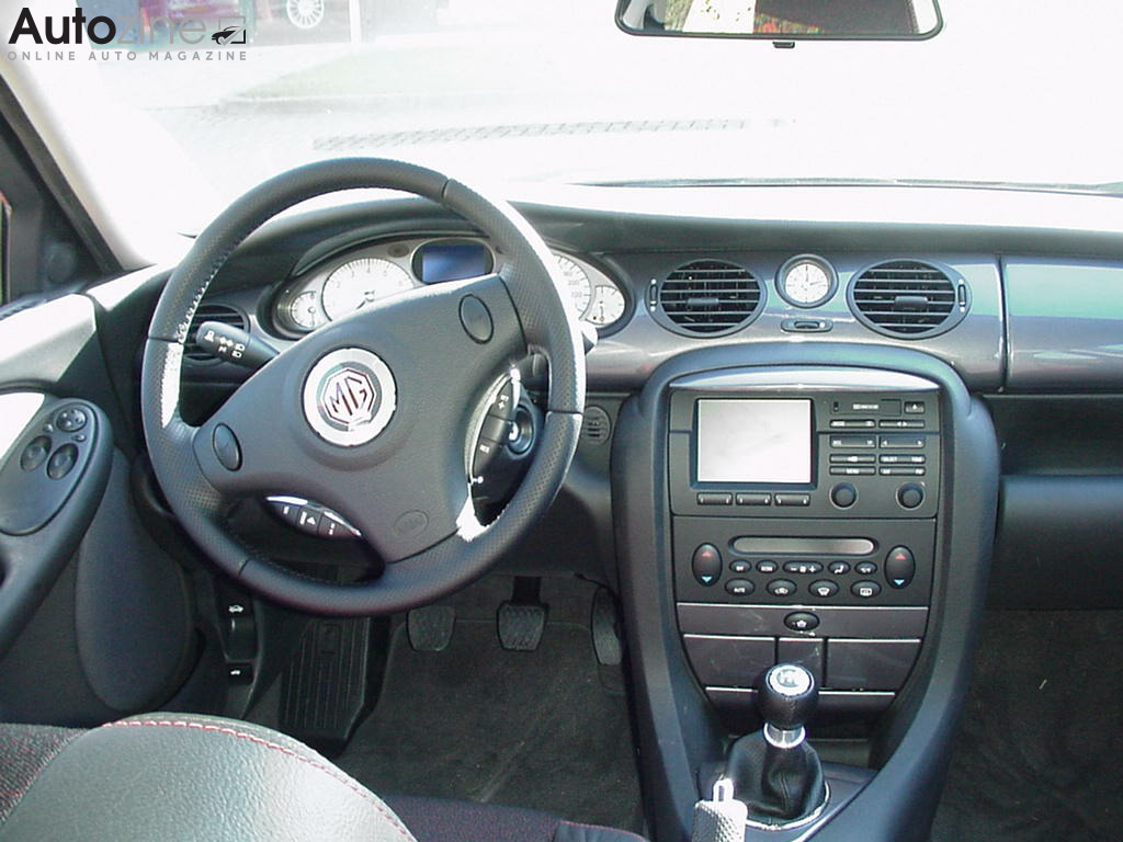 MG ZT Interieur