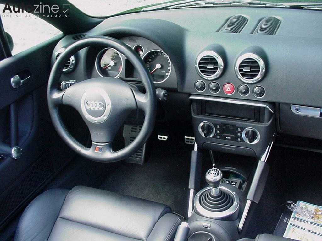 Audi TT Roadster (1998 - 2007) Interieur